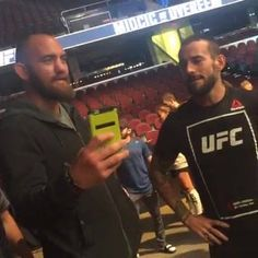 We are LIVE from the #UFC203 weigh-ins at the Quicken Loans Arena in Cleveland!!!