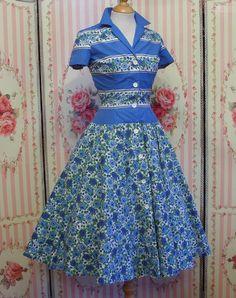 HORROCKSES FASHIONS 1950s Vintage Dress / by RainbowValleyVintage