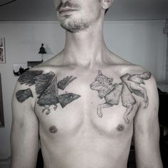 Through the night @thewhiteelephantstudio #otto #ottodambra #tattoolondon #tattooart #etching