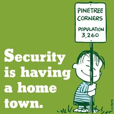 Security is having a home town.