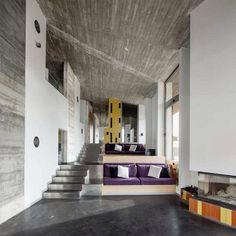 Bitxo House by Lagula Arquitectes - Design Design Exterior, Interior Exterior, Modern Interior, Interior Architecture, Halls, Interior Design Inspiration, Sofa Inspiration, Design Ideas, Minimalism