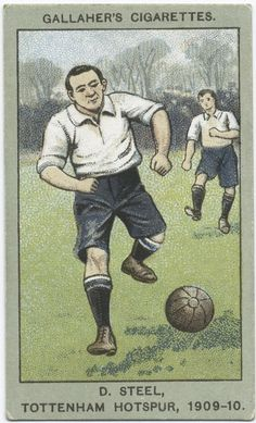 Steel, Tottenham Hotspur, From New York Public Library Digital Collections. Football Design, Retro Football, Sports Baseball, Football Cards, Football Soccer, Football Players, Bristol Rovers, Tottenham Hotspur Football, British Football