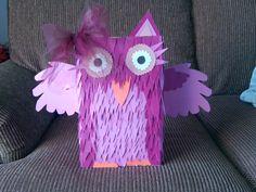 Owl valentines box. 2013