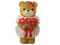 Vintage Mini Cute Teddy Bear Figurine by BelleBloomVintage on Etsy