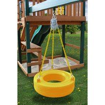 Walmart: Gorilla Playsets Commercial Grade Tire Swing in Yellow