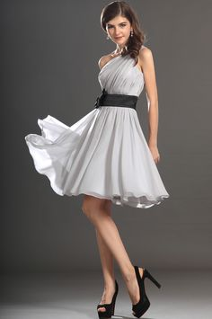 eDressit 2013 New Gorgeous One shoulder Light Grey Cocktail Dress Party Dress (04131608)