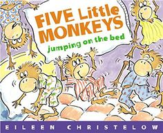 Cinco Monitos Brincando En La Cama / Five Little Monkeys Jumping On The Bed (Five Little Monkeys Picture Books) (Spanish and English Edition) No More Monkeys, Five Little Monkeys, Monkey Pictures, Funny Pictures, Best Baby Book, Monkey Jump, Counting Books, Popular Stories, Monkey Business