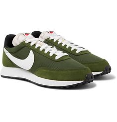 Air Tailwind 79 Shell, Suede and Leather Sneakers by Nike — Thread Black Leather Trainers, Leather Sneakers, Nike Tech Fleece Pants, Nike Waffle Racer, Nike Metcon 2, Nike Air Tailwind, Nike Flyknit Trainer, Wrestling Shoes, Nike Sportswear