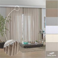 A Cortina Inove Primitive tráz ao ambiente o charme e a elegância dos ambientes modernos. Disponível em 6 opções de cores, todas neutras, para harmonizar com todos os ambientes!