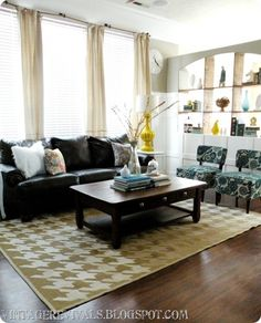 Hailee's Living Room Paint Colors, Sources, and Cost