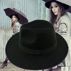 Wholse Black&Gray&Khaki Red Fedora Hats For Women Cashmere Wool Fedoras Panama Hat Autumn Winter Trilby Gorro Chapeu Mx0357 From Maxcomet, $7.45 | Dhgate.Com