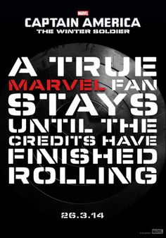 Remember at a Marvel movie, it's not over until the next show starts.