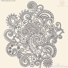 Paisley Designs | ... -vine-flowers-paisley-pattern-tattoo-design-tattoo-design-800x800.jpg