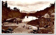 "TROSSACHS, Scotland UK Real Photo RPPC Postcard ""The Pier, Loch Katrine"" c1940s | eBay"