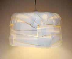 abażur GUMA BALONOWA | projekt: Daria Burlińska - dbwt | ROZMIAR: około 45x45x30cm | 244 PLN