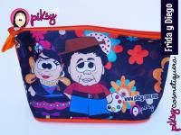 piksy cosmetiquera Frida Kahlo y Diego Rivera!  #hechoenméxico @Kichink!