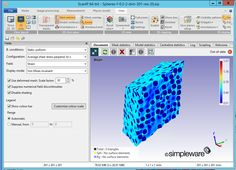 Demonstration of shear strain simulation in a deformed mesh in new module +SOLID