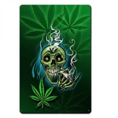 Smoking is only one way to enjoy marijuana! You will love it more in edibles you make easily yourself. This book has great recipes for easy marijuana oil, delicious Cannabis Chocolates, and tasty Dragon Teeth Mints: MARIJUANA - Guide to Buying, Growing, Weed Wallpaper, Skull Wallpaper, Medical Marijuana, Cannabis Shop, Marijuana Leaves, Dragon's Teeth, Weed Pictures, Psychedelic Art, Tattoo Ideas