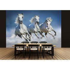 Ideal Decor Arabian Horses Wall Mural - DM162