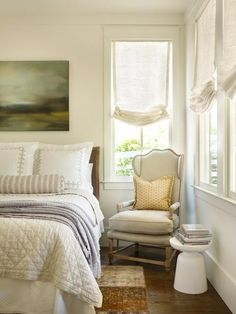 Find and save ideas about Farmhouse bedrooms on our site. See more ideas about Modern farmhouse bedroom, Spare bedroom ideas and Simple bedroom decor. Beach House Bedroom, Dream Bedroom, Home Bedroom, Bedroom Ideas, Master Bedroom, Master Bath, Farmhouse Bedroom Decor, Country Farmhouse Decor, Country Living