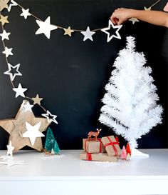 Over the next few weeks I'm working with Home Depot on a few festivecrafts that are easy and fun to transform your home during the holidays. The first is this easy star garland. You can drape it over your tree, a doorway, a mantle, fireplace, or hang them from the windows. So many possibilities and …