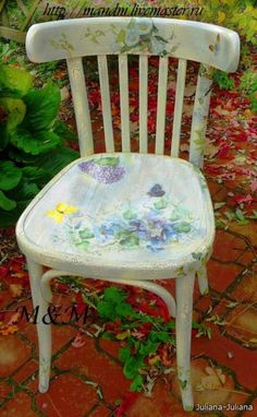 Lovely old chair  given a new live