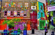 Neal's Yard, la piazza segreta di Londra - Appartamenti Londra