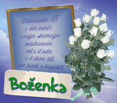 27.7 Boženka Birthday Wishes, Letter Board, Lettering, Frame, Blog, Picture Frame, Special Birthday Wishes, Drawing Letters, Blogging
