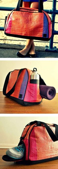 The Activyst gym bag has a compartment for EVERYTHING.
