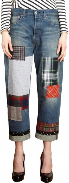 514d5eb3af97 Patchwork Styles by Junya Watanabe : The Best Jeans, Accessories, and  Premium Denim