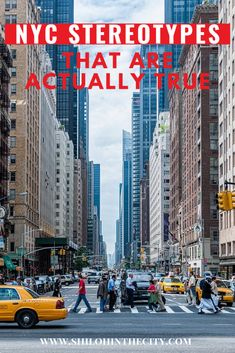 NYC is made up of over 8 million individuals, yet there are a lot of things we have in common. Here are the NYC stereotypes that are actually true. New York City Vacation, New York Travel, Travel Usa, Travel Advice, Travel Tips, Dream School, College Admission, Concrete Jungle, Shiloh
