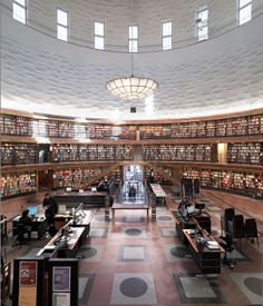 Gunnar Asplund, Stockholm City Library,1928 'Modern republican realization'