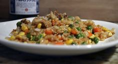 teriyaki fried rice I've decided I need more recipes with a minimal ingredient list, so here is my first 5 Ingredient or Less recipe. This is my twist on fried rice and is a perfect way to us…