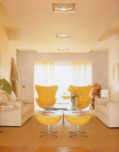 """""""The center of your house is the 'health center' according to feng shui,"""" says Barrett, who recommends adding yellow and green to the area. """"Yellow represents the sun and green symbolizes nature, and they'll energize the health center."""""""