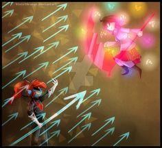 [True Hero] Glitchtale by VioletOrange.deviantart.com on @DeviantArt