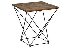 Bradley End Table $329 (less than 420 of West elm) Furniture: Tables: Side Tables - One Kings Lane