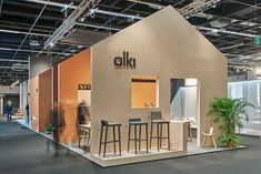 Reportage photo des salons IMM et Maison Objet Exhibition Stall Design, Exhibition Display, Exhibition Stands, Cabana, Trade Show Design, Space Gallery, Retail Store Design, Scale Design, Space Architecture