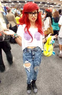 65 Cosplay Pictures From San Diego Comic Con 2013 - Neatorama  Hipster Ariel