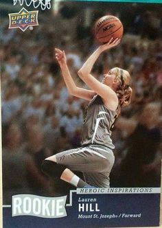 Upper Deck Playing Card Lauren Hill, Beacon Of Hope, Upper Deck, Source Of Inspiration, Trading Cards, Real Life, Hero, Playing Card, Awesome