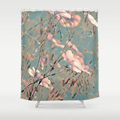 Flax(silver). Shower Curtain #ShowerCurtain society6.com/... #showercurtains #society6 #pink #elegant #purple #romantic #bathroom #textile #homedesign #life #blue