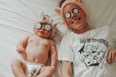 #spaday #cucumber #parenting #instamom #baby Spa Day, Cucumber, Parenting, Photo And Video, Mom, Baby, Instagram, Childcare, Newborn Babies