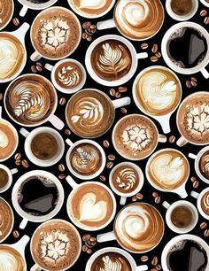 Coffee Latte Art, I Love Coffee, Brown Coffee, Black Coffee, Coffee Drinks, Coffee Cups, Coffee Coffee, Morning Coffee, Coffee Creamer