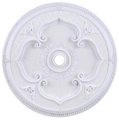 """Elegant Lighting - Medallion 43"""", White"""