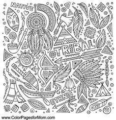 Southwestern Coloring Page 15