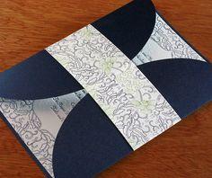 romantic letterpress wedding invitation by invitations by ajalon