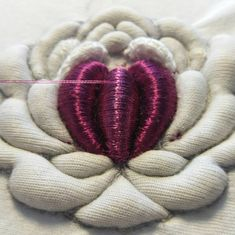 Wonderful Ribbon Embroidery Flowers by Hand Ideas. Enchanting Ribbon Embroidery Flowers by Hand Ideas. Tambour Embroidery, Types Of Embroidery, Rose Embroidery, Embroidery Fashion, Hand Embroidery Designs, Embroidery Patterns, Ribbon Embroidery Tutorial, Silk Ribbon Embroidery, Embroidery For Beginners