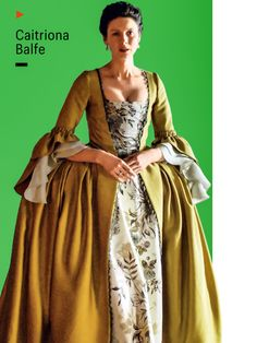 I want this gown!  Caitriona Balfe is beautiful.