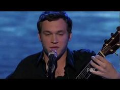Philip Philips singing In The Air Tonight on American Idol. Another dreamy song. music