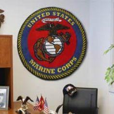 Round USMC Rug