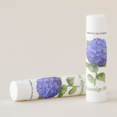 Shop Blue Hydrangea Flower Lip Balm created by Artellus. Blue Hydrangea Wedding, Hydrangea Flower, Floral Flowers, Wedding Shower Gifts, Gifts For Wedding Party, Shower Party, Party Gifts, Floral Style, Flower Designs
